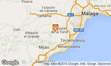 Karte Alhaur�n de la Torre Villa 45903
