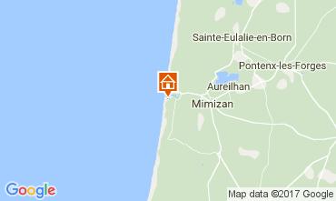 Karte Mimizan Appartement 112735