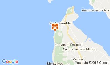 Karte Soulac Haus 108736