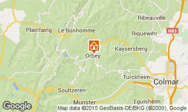 Karte Orbey Appartement 68479