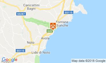 Karte Avola Villa 116152