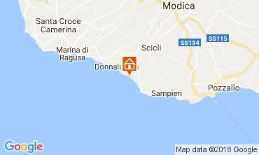 Karte Donnalucata Villa 112801