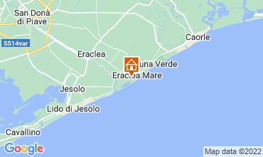 Karte Eraclea Mare Appartement 41513