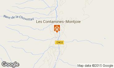 Karte Les Contamines Montjoie Chalet 930