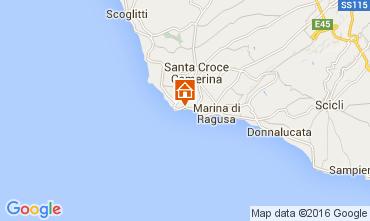 Karte Punta Secca Appartement 105274