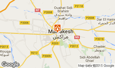 Karte Marrakesch Haus 41194