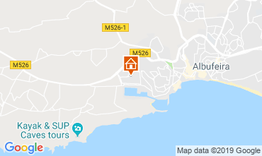 Karte Albufeira Appartement 69551