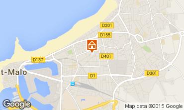 Karte Saint Malo Studio 26263