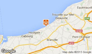 Karte Villers sur Mer Haus 42353