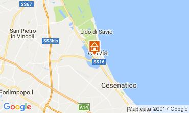 Karte Cervia Appartement 109534