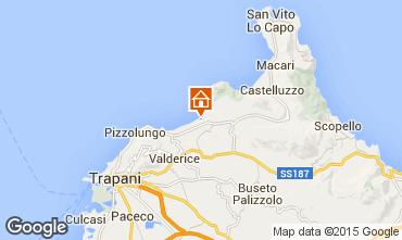 Karte Trapani Appartement 95632