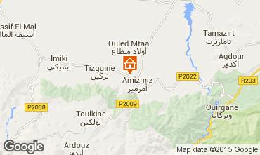 Karte Marrakesch Ferienunterkunft auf dem Land 73311