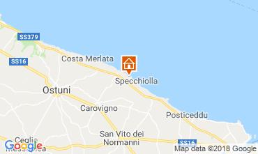 Karte Ostuni Villa 94356