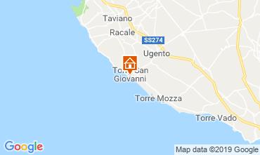 Karte Ugento - Torre San Giovanni Fremdenzimmer 118712