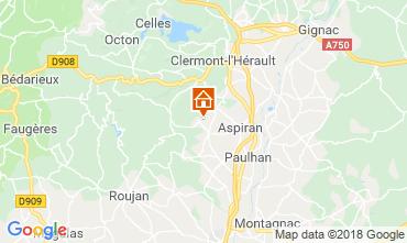 Karte Clermont l'Hérault Villa 103881