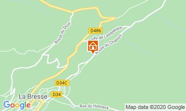 Karte La Bresse Hohneck Appartement 4526