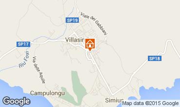 Karte Villasimius Appartement 72288