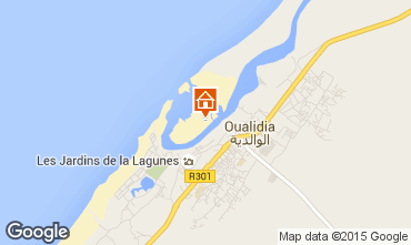 Karte Oualidia Villa 9728