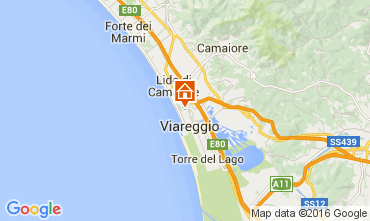 Karte Viareggio Appartement 104111