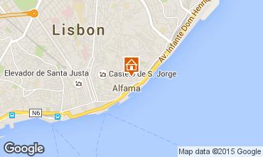 Karte Lissabon Studio 23997