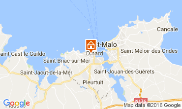 Karte Dinard Appartement 107051