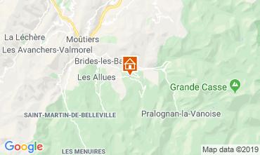 Karte Courchevel Chalet 106839