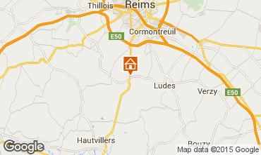 Karte Reims Mobil-Home 100134