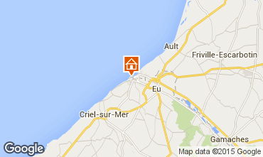 Karte Le Tréport Appartement 101851