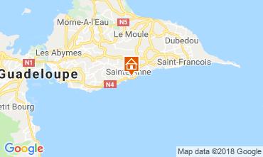 Karte Sainte Anne (Guadeloupe) Appartement 116656