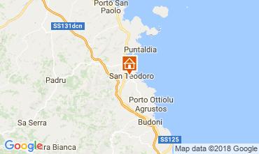 Karte San Teodoro Haus 107576