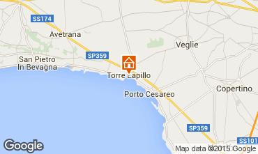 Karte Porto Cesareo Haus 94214