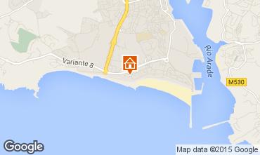 Karte Praia da Rocha Appartement 88022