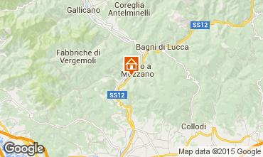 Karte Bagni di Lucca Appartement 88788