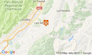 Karte Les Sept Laux Appartement 112719