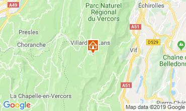 Karte Villard de Lans - Corrençon en Vercors Studio 68518
