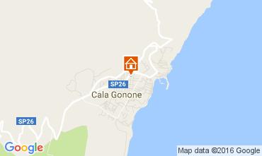 Karte Cala Gonone Appartement 106231