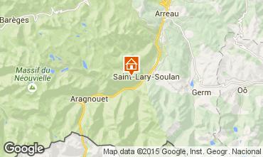 Karte Saint Lary Soulan Studio 4428