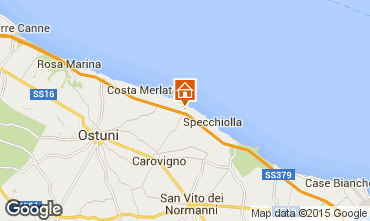 Karte Ostuni Villa 95255