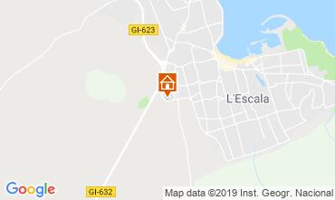 Karte L'Escala Appartement 28455