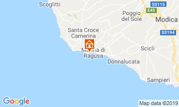 Karte Marina di Ragusa Appartement 34177