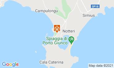 Karte Villasimius Haus 114543