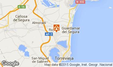 Karte Alicante Haus 101162
