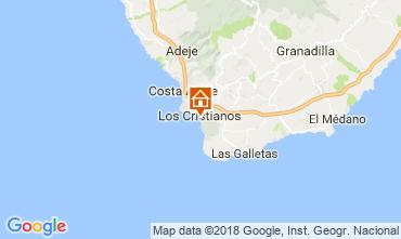 Karte Los Cristianos Appartement 113441