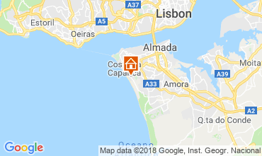 Karte Caparica Villa 116278