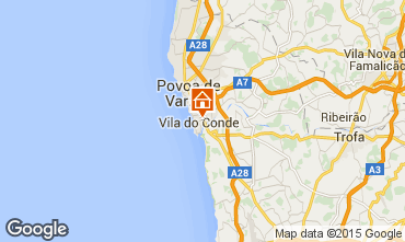 Karte Vila do Conde Appartement 75567