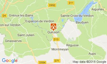 Karte Sainte-Croix-du-Verdon Appartement 65232