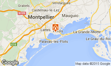 Karte Lattes Mobil-Home 77494