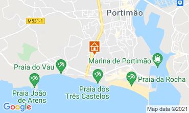 Karte Praia da Rocha Appartement 107512