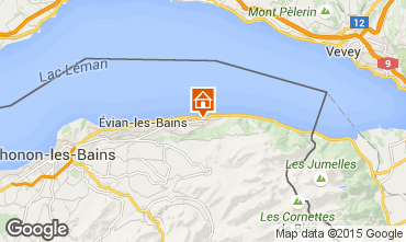 Karte Evian les Bains Haus 98117