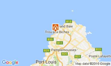 Karte Trou-aux-biches Appartement 100334